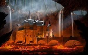Lava Fortress by Cybergooch on DeviantArt