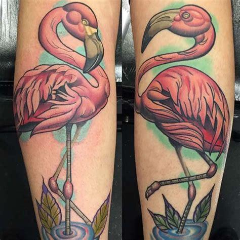 arresting flamingo tattoos amazing tattoo ideas