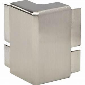 Profil De Finition Plan De Travail 38mm : jonction d 39 angle 90 ferm reno plan aluminium bross ~ Dailycaller-alerts.com Idées de Décoration