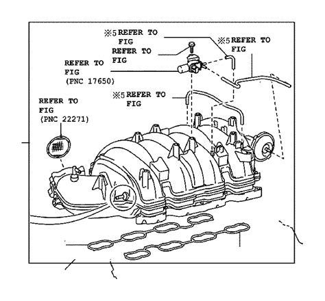 Toyota Tundra Engine Intake Manifold Exhaust Directs
