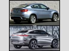 Photo Comparison MercedesBenz MClass Coupé Concept