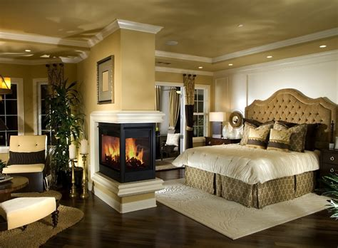 Bedroom Design With Fireplace by 20 Modern Luxury Bedroom Designs