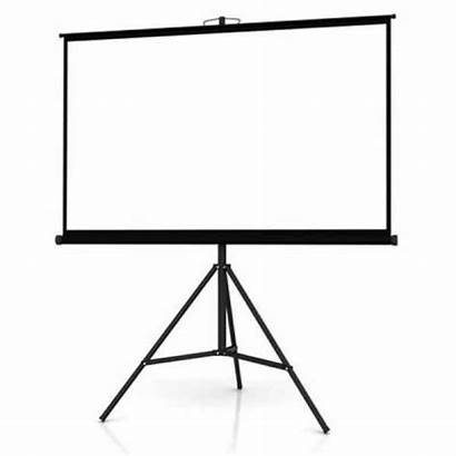 Projector Screen Tripod Inch Layar Proyektor Projection