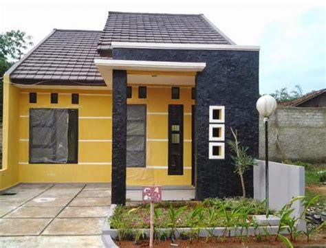 gambar  denah rumah minimalis  lantai tipe