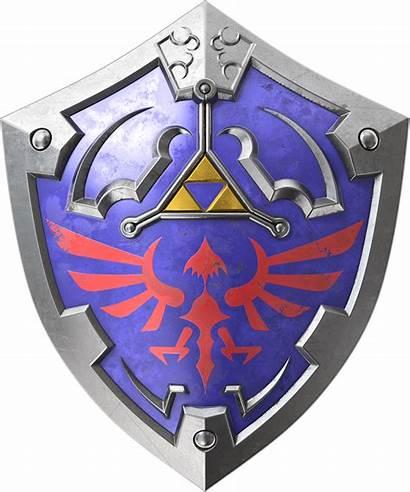 Shield Zelda Hylian Legend Link Hylia Ocarina