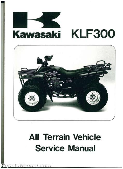Kawasaki Bayou Parts by 1986 1987 Kawasaki Klf300 Bayou Service Manual