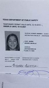 texas department of public safety temporary permit With texas temporary drivers license template