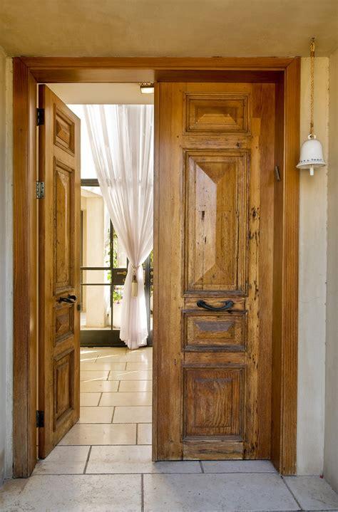 rustic interior doors entry rustic  curtain door