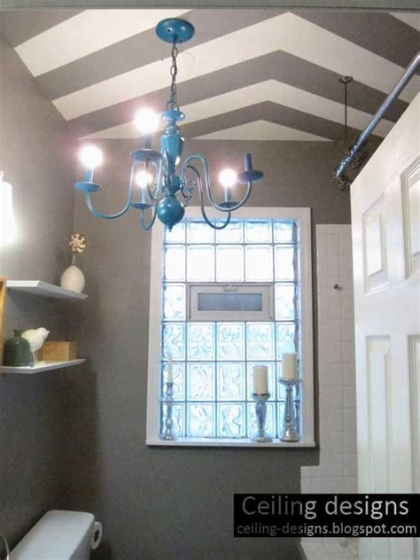 bathroom ceiling ideas, designs, classifications