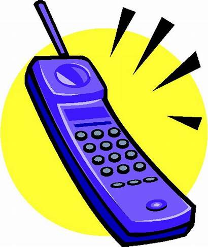 Telephone Clip Clipart Phone Wikiclipart Cliparts Yellow