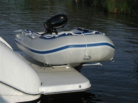 Dinghy Boat Mount by Hurley Davits Davit Systems For Boats