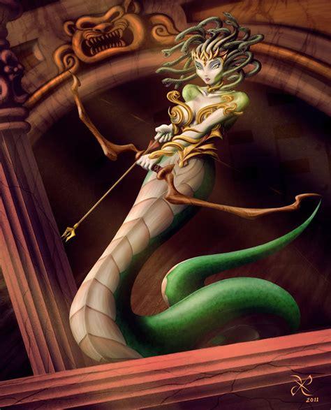The Gorgon Medusa by scificat on DeviantArt
