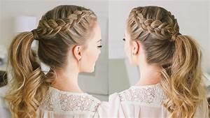 Double Dutch Braid Ponytail   Missy Sue - YouTube