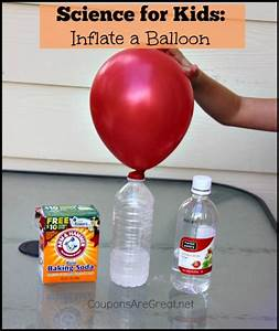 Science Experiments for Kids: Blow up a Balloon with ...