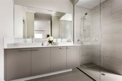 Our Display Homes  The Odin  Contemporary Bathroom