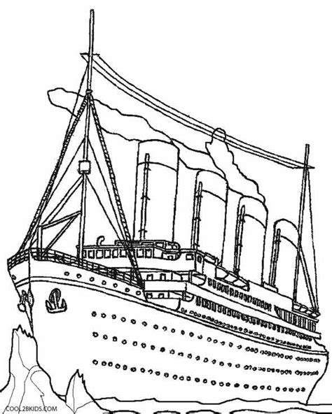 titanic coloring pages printable titanic coloring pages for cool2bkids