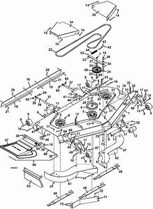 430d Deck Assembly 72 Inches 2009 Grasshopper Mower Parts