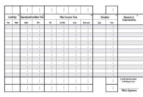 aircraft log book template sampletemplatess
