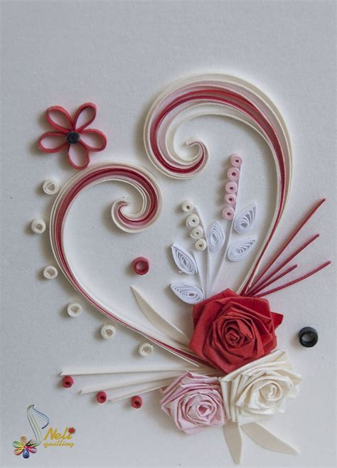 quilling cards with love quilling pinterest
