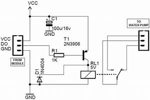arduino soil moisture sensor module circuit With relay wiring diagram in addition voltage sensing relay wiring together