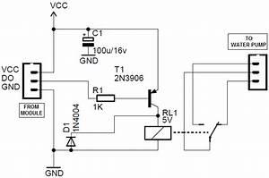 Arduino Soil Moisture Sensor Module Circuit