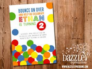make your own wedding invitations free printable bouncy birthday invitation pit bouncing park