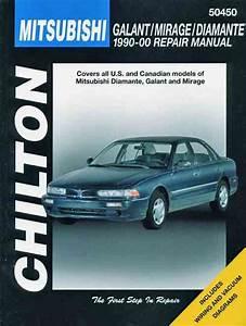 Mitsubishi Mirage Galant Diamante Service Repair Manual 90 00