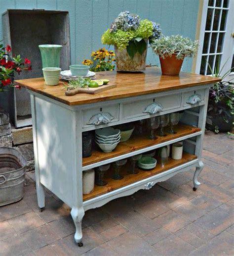 dresser kitchen island old dresser converted to kitchen island painting