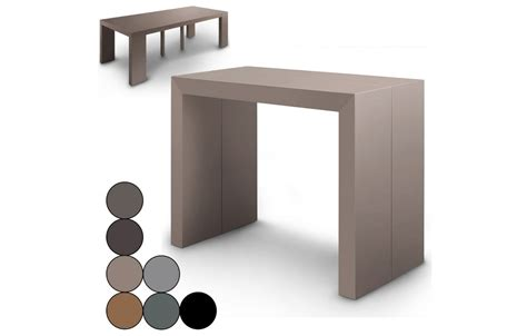 table console extensible effet b 233 ton