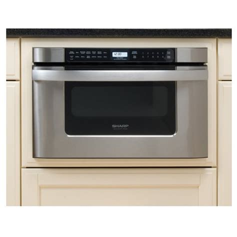 sharp drawer microwave 24 sharp kb 6524ps 24 inch microwave drawer oven stainless