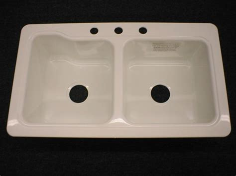 enameled kitchen sink