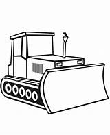 Coloring Bulldozer Digger Construction Drawing Craft Simple Template Sketch Moving Vehicles Truck Tractor Sketchite Sheet Excavator Templates Clipartmag Colorluna sketch template