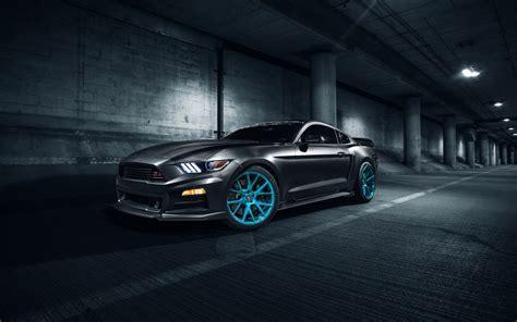 Roush Ford Mustang Vossen Wheels Wallpaper