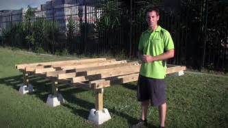 handi block instant foundation system youtube