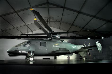 Sikorsky S 97 Raider Coaxial Helicopter Officially
