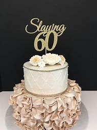 60th Birthday Cake Toppers