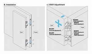 door hinge three way adjustable concealed hinges for