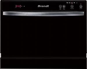 Petit Lave Vaisselle 6 Couverts : lave vaissalle 6 couverts 53db coloris noir brandt dfc1106b tous les produits lave vaisselle ~ Farleysfitness.com Idées de Décoration