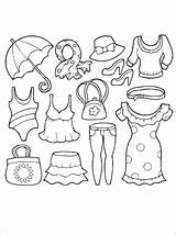 Coloring Clothes Pages Summer Clothing Printable Preschoolers Coloriage Sheets Getcolorings Colorier Books Cool Winter Preschool Spring Adult Stuff 1coloring Adults sketch template