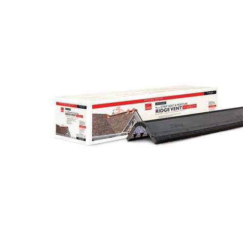 Owens Corning Deck Defense Home Depot by Master Flow Plastic End For 10 Ft Aluminum Ridge