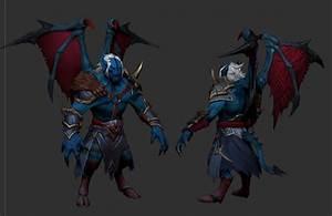 Armored Nightstalker Set Conceptsculpt DotA2