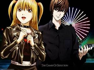 Light Yagami and his annoying gf Misa ;) Death note ...