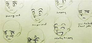 How to Draw multiple manga facial expressions « Drawing ...