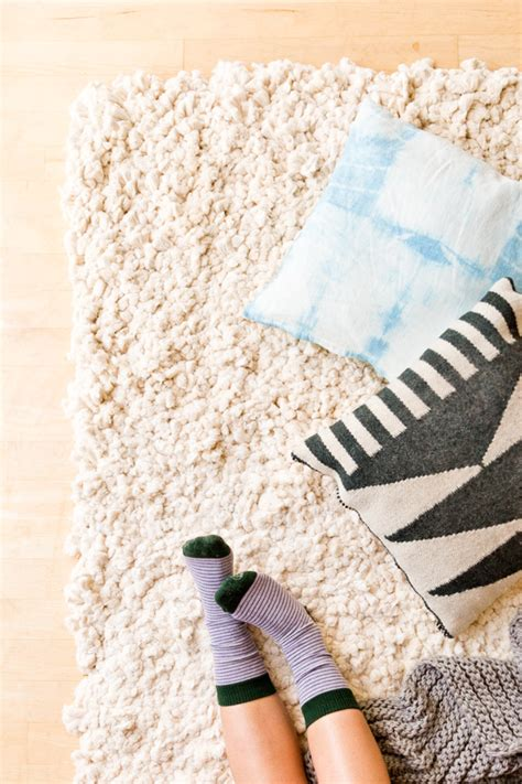 How To Make A Large Rug how to make a large scale rug from scratch