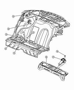 2002 Dodge Intrepid Seat Belt  Rear  Center   L2   Trim
