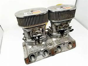 Fiat Twincam 124  131 Weber 40 Idf 13  15 Carburettors  Manifold  U0026 Air Filter Assembly