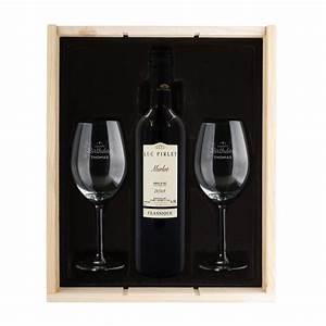 Coffret Whisky Avec Verre : coffret vin luc pirlet merlot yoursurprise ~ Teatrodelosmanantiales.com Idées de Décoration