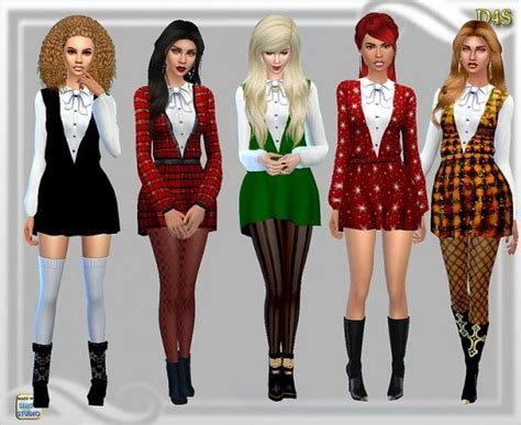 dreaming  sims goning home short dress sims