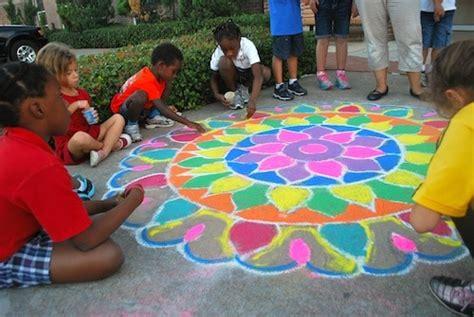 rangoli floor folk art  india