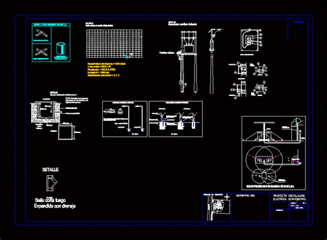 fuel station dwg full project  autocad designs cad